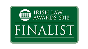 Finalist Irish Law Awards 2018